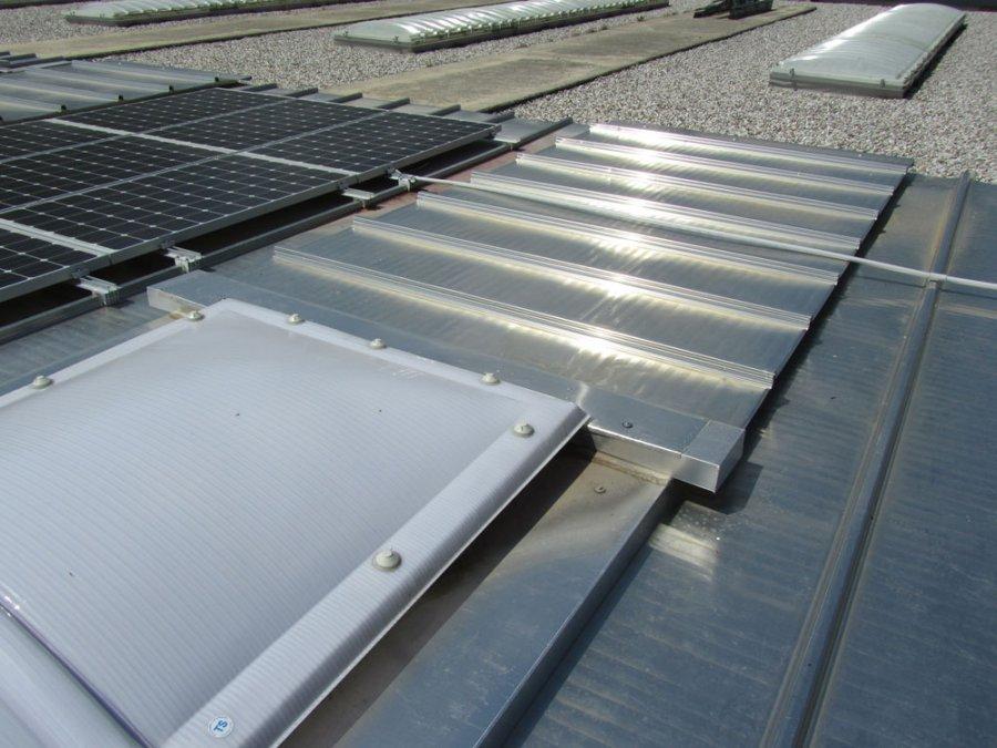 copertura a sistema tetto piano