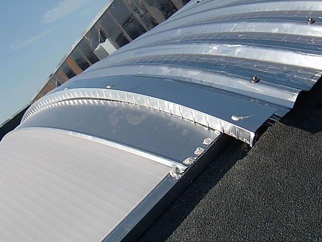 realizzazione tetto capannone