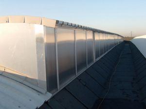 copertura capannone industriale