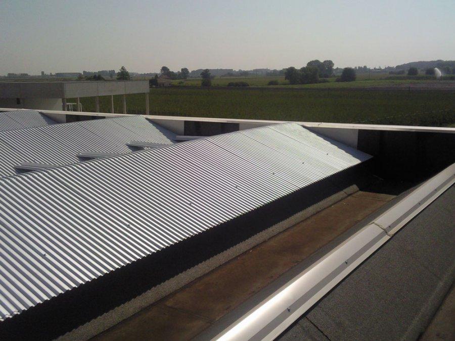 ristrutturazione tetto capannone