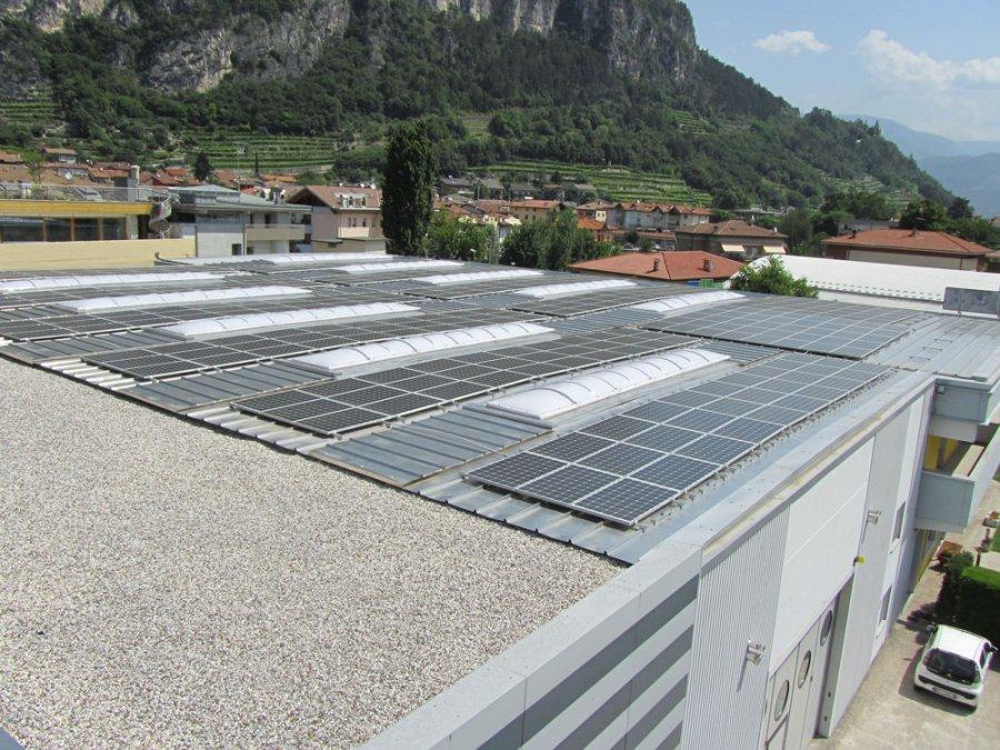 coperture capannoni sistema tetto piano