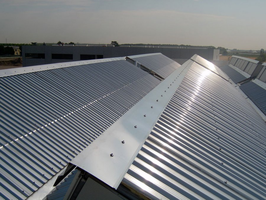 rivestimenti tetti industriali