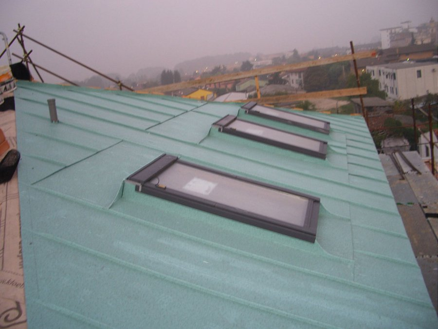 tetti capannoni doppia aggraffatura