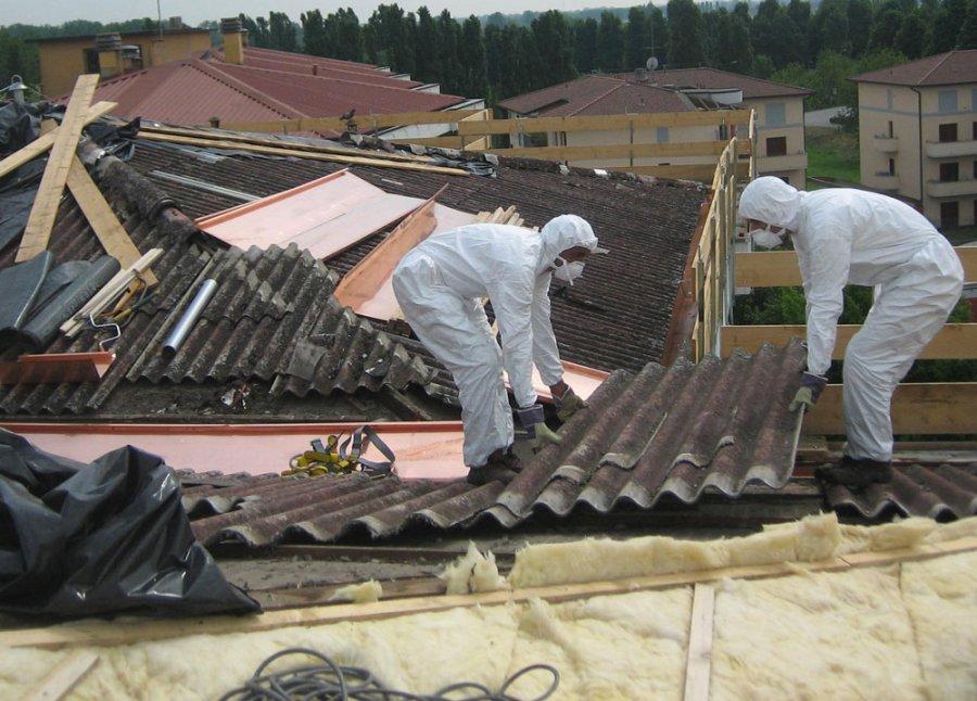 sostituzione copertura amianto